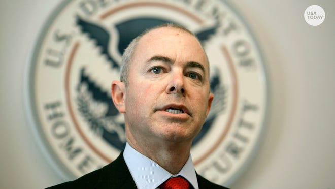 Homeland Security Secretary Alejandro Mayorkas cleared the Senate in a 56-43 vote, one of the closest votes for any of President Joe Biden's nominees so far.