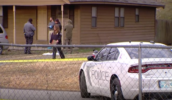 Five children were among six people killed in shooting rampage in Muskogee, Oklahoma.