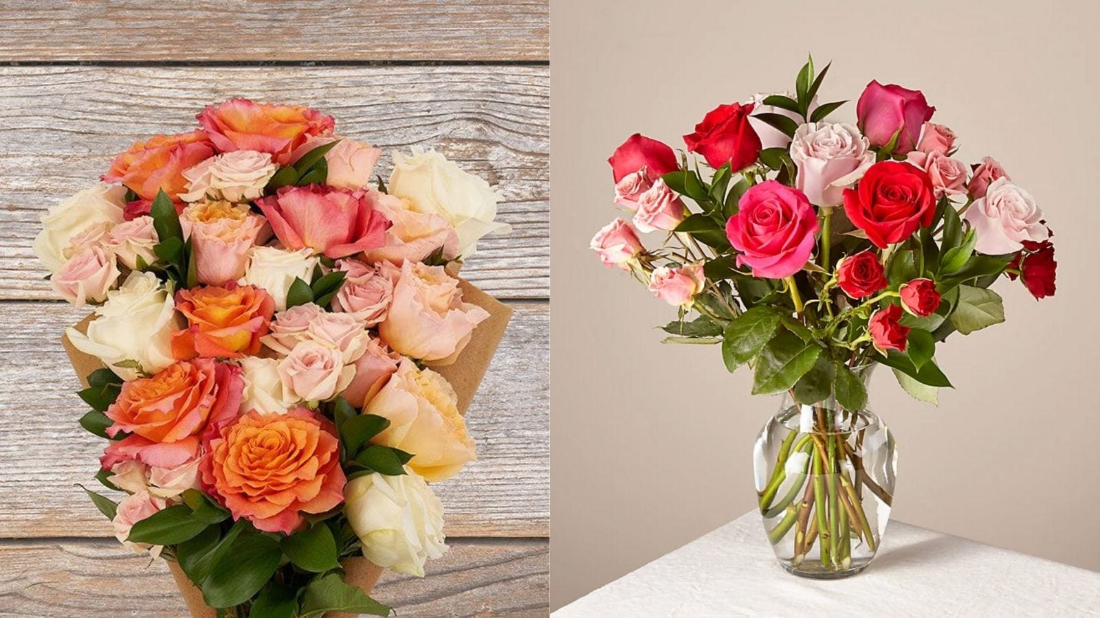 The 12 Best Places To Order Flowers Online Gorgeous Flower Bouquets For Valentine S Day