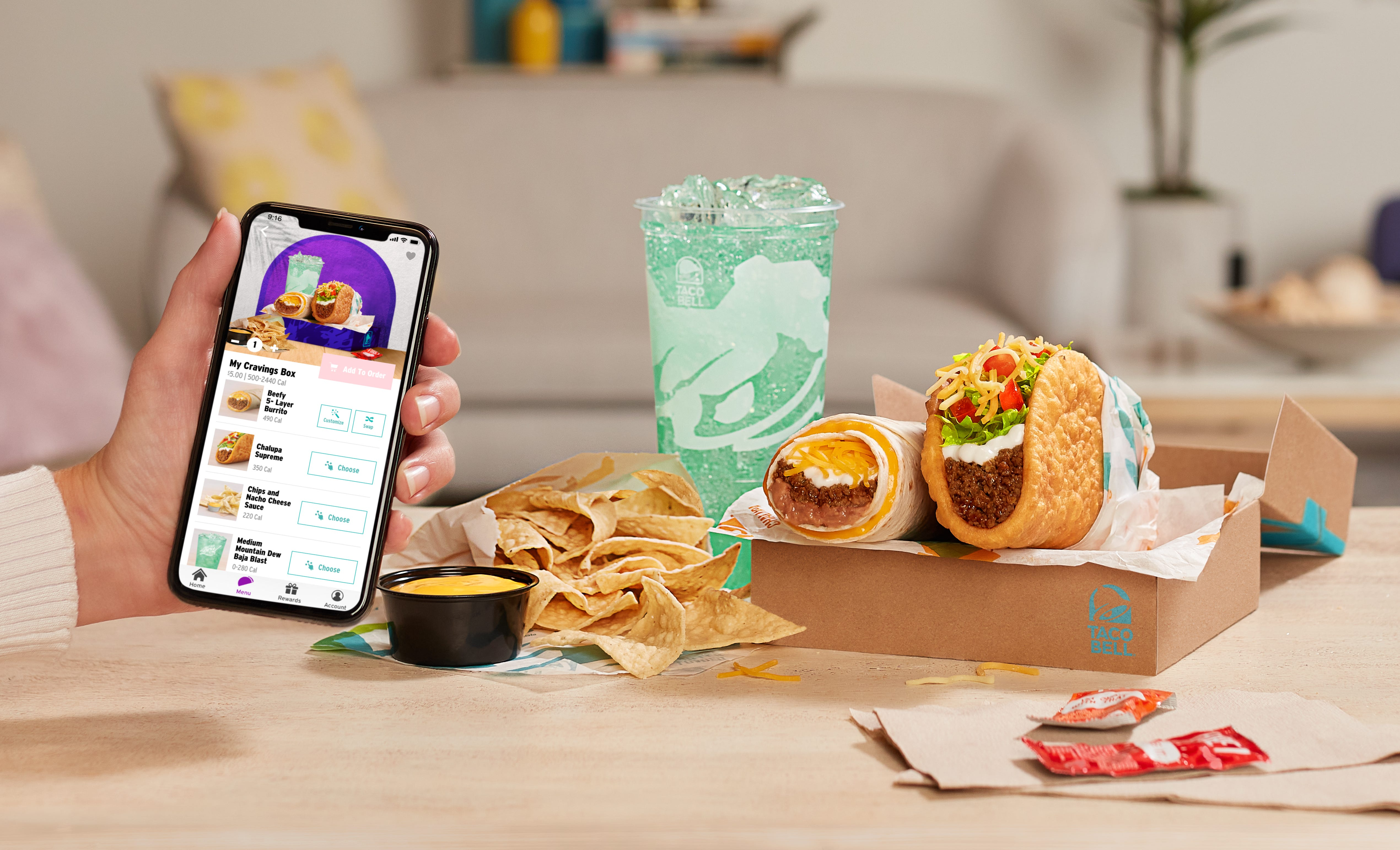 Taco Bell releases $5 'Build Your Own Cravings Box' and rewards members get early access