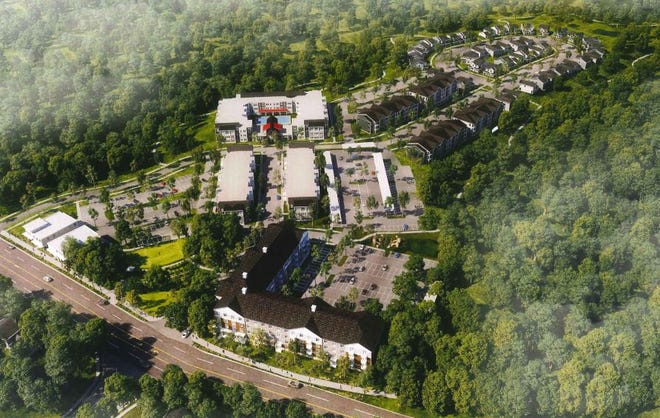 This housing complex is proposed for Lexington Road in east Athens. [Athens-Clarke County Planning Department]