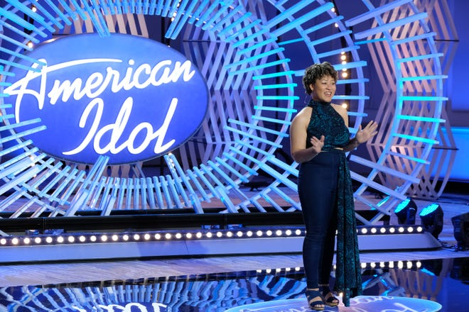"""Firestone High School graduate Serrin Joy, who auditioned for """"American Idol"""" in October, made it to the """"Genre Challenge"""" in Hollywood."""