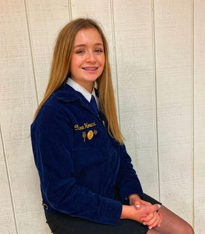 Black River FFA member Chloee Howard received an Ohio State Beekeepers Association (OSBA) scholarship.