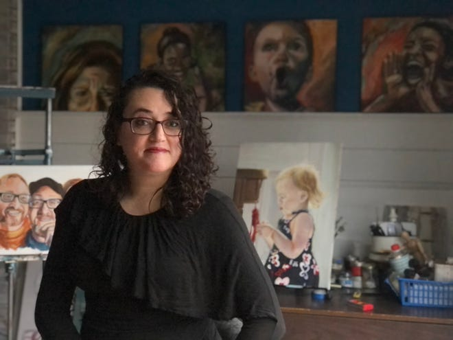 Graduating senior Barbie Waters' art will be featured at the 2021 Senior Art + Design Exhibition, which will open on Friday, Feb. 12 and run until Feb. 21.