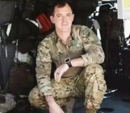 United States Army Major Trevor Philip Joseph