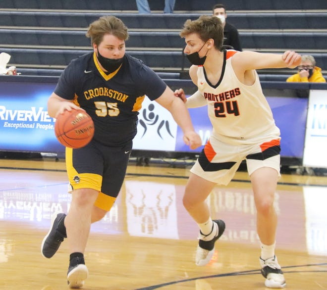 Brooks Butt scored 16 points in Crookston's 75-53 loss to Park Rapids Tuesday, Feb. 2.