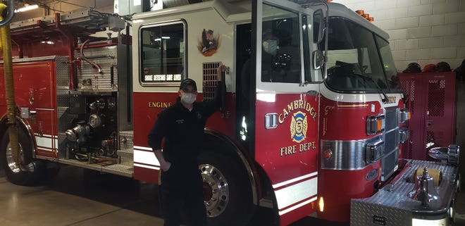 Cambridge Fire Department has ordered a new pumper truck, which will replace the one they currently use.