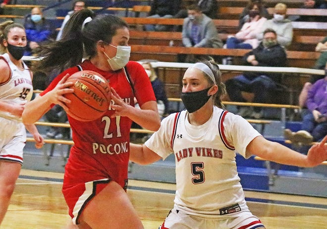 Senior Carena Colo leads the Lady Trojans with 53 points over four games. Following tier seasonal debut and loss to Riverside, North Pocono posted wins against Scranton and Riverside before losing a close one to Western Wayne.