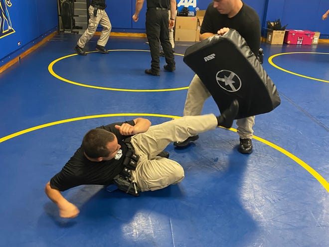 P-Fit program topics include physical fitness guidance, nutrition, motivation, stress management, mental preparedness, the warrior mindset, police awareness and more.
