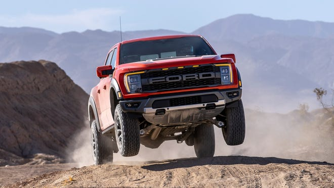 The 2021 Ford F-150 Raptor.
