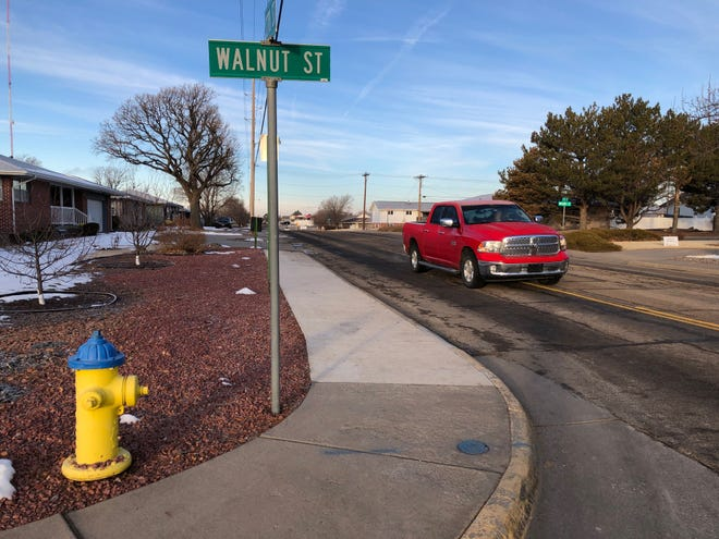 Vehicles early Wednesday morning traveled busy 27th Street, where a $2.485 million upgrade will replace the asphalt pavement with more durable and long-lasting concrete, as well as some fireplugs, sidewalks and curb and gutter. Work starts mid-March.