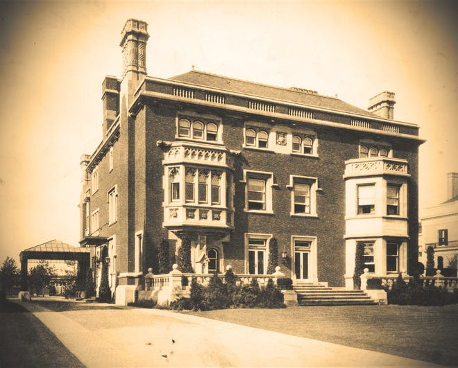 """""""Cleveland's Millionaire Row"""" shows the extravagance of Euclid Avenue in the mid-1880s to the 1930s, and is the monthly presentation by Hudson Heritage Association: Thursday at 7:30pm."""
