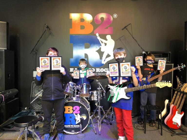 Bach to Rock Penfield names  Battle  winners