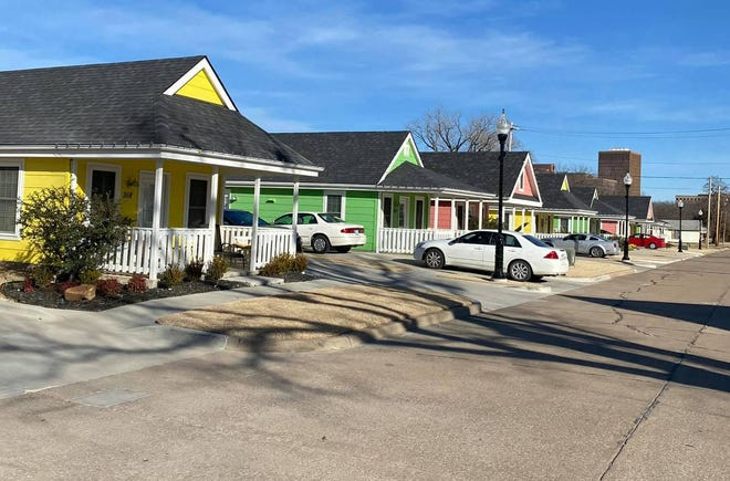 """The McPherson Housing Coalition is planning """"Oak Harbor Cottages,"""" a settlement of 10 tiny homes similar to a project in Bartlesville, Okla., to give the organization flexibility helping people who find themselves homeless."""