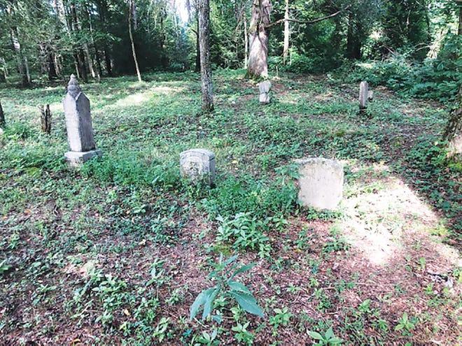 The historic Worthington Cemetery.