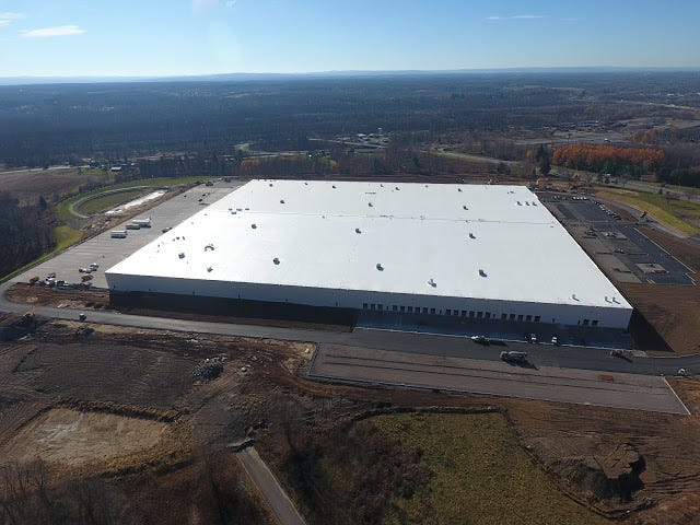 A November aerial view of the Orgill distribution center in Rome.