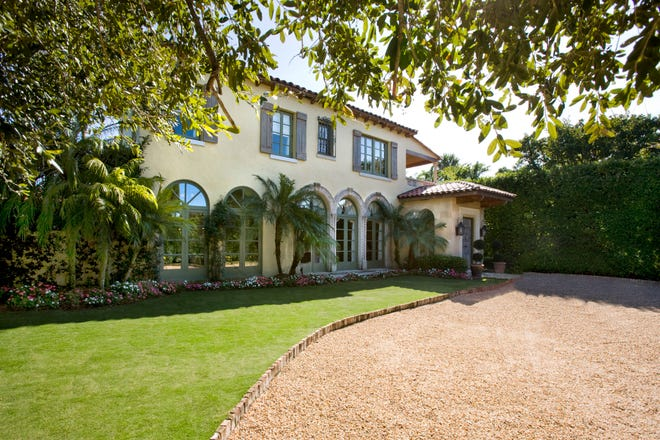 Built in 1930, this Mediterranean-style house at 258 Wells Road in Palm Beach sold in January for just under $9 million.