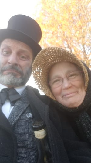 """Michael Maler and Diane Lent are starring as Kennebunk couple Captain Charles Barry and his wife, Sarah, in a virtual Brick Store Museum production of its own play, """"Dear Sarah."""""""