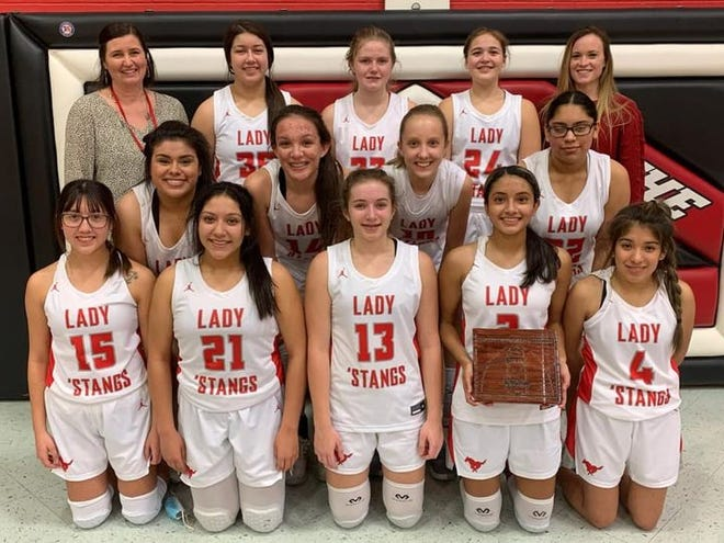 The Macksville High School girls basketball team took 3rd place at the 2021 Lady Falcon Invitational Tournament last week. Teams competing were Central Christian, Fairfield, Little River, Goessel, Burrton, Stafford and Macksville.  More spectators will be allowed at future sporting events in Kansas, as per KSHSAA rule changes.