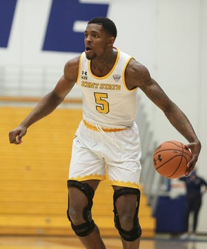 Senior forward Danny Pippen will lead Kent State into Tuesday night's battle with host Bowling Green.