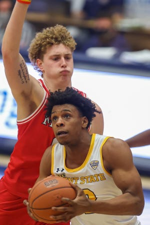 Kent State junior guard Malique Jacobs has spearheaded a defensive resurgence that's paved the way for the team's success since the start of February.