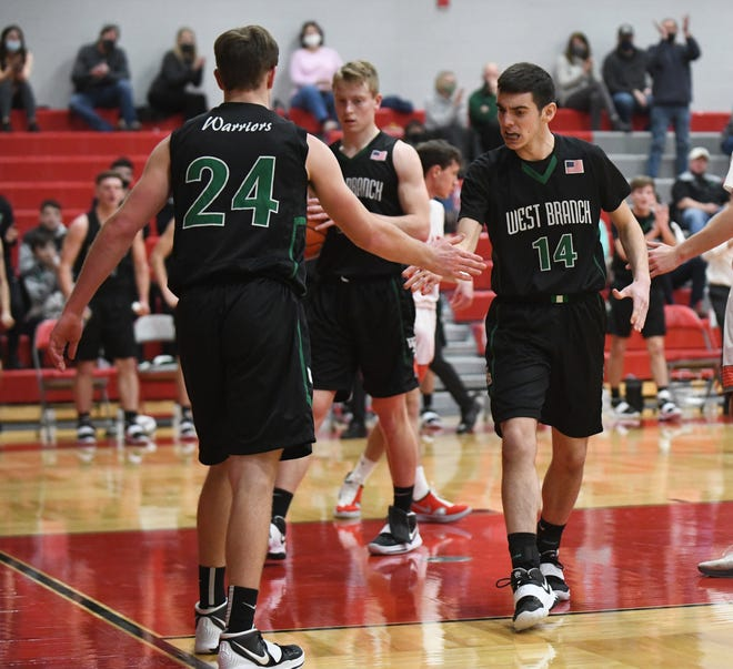 West Branch at Canton South Boys Basketball; Tuesday, Feb.2, 2021.