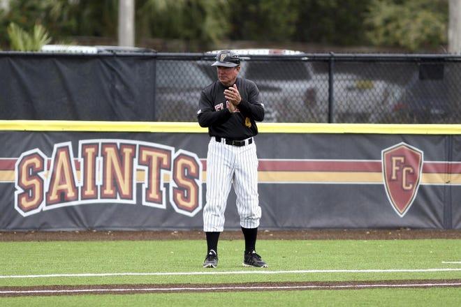Flagler College baseball coach Dave Barnett is entering his 34th season.