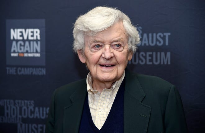 Hal Holbrook arrives at an event March 16, 2015, in Beverly Hills, California. Holbrook died on Jan. 23 in Beverly Hills, his representative, Steve Rohr, told The Associated Press on Tuesday. He was 95.