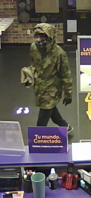 Image of suspect in an attempted robbery investigation at the Metro PCS on E. Montgomery Cross Roads.