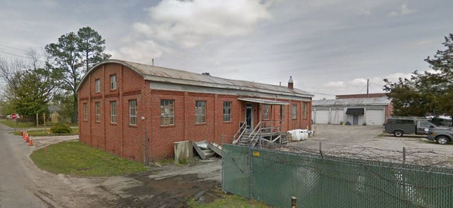The city's old Stormwater Maintenance Division building shown prior to renovations. [CONTRIBUTED PHOTO]