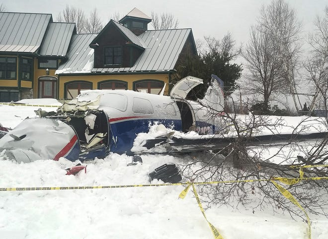 LEICESTER  - A small plane crashed near 505 Moose Hill Road on Tuesday.