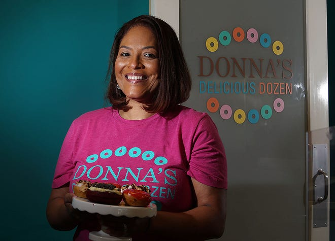 Traci Lukemire, owner of Donna's Delicious Dozen, 5322 N. Hamilton Road in Columbus, intends to add a food truck to her doughnut business.