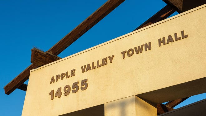 Apple Valley Town Hall.