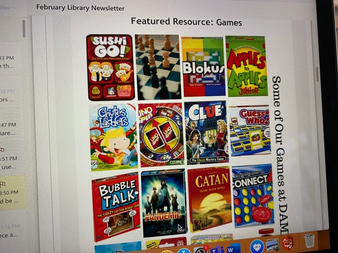 Dorothy Alling Memorial Library in Williston combats boredom by lending out board games to its members.