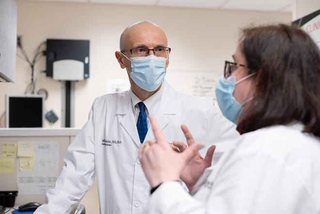 Mladen Golubic, a former physician at the Cleveland Clinic, will co-helm the new cancer wellness clinic at the University of Cincinnati Cancer Center.