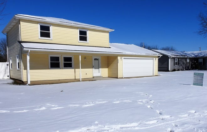A home for sale at 54428 Hickory Flats Drive, West Lafayette, by Olinger & Co. Realty.