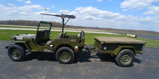 A military Jeep restored by Specialty Jeeps of Coshocton is being raffled off to honor Charlies Daniels and benefit veterans.
