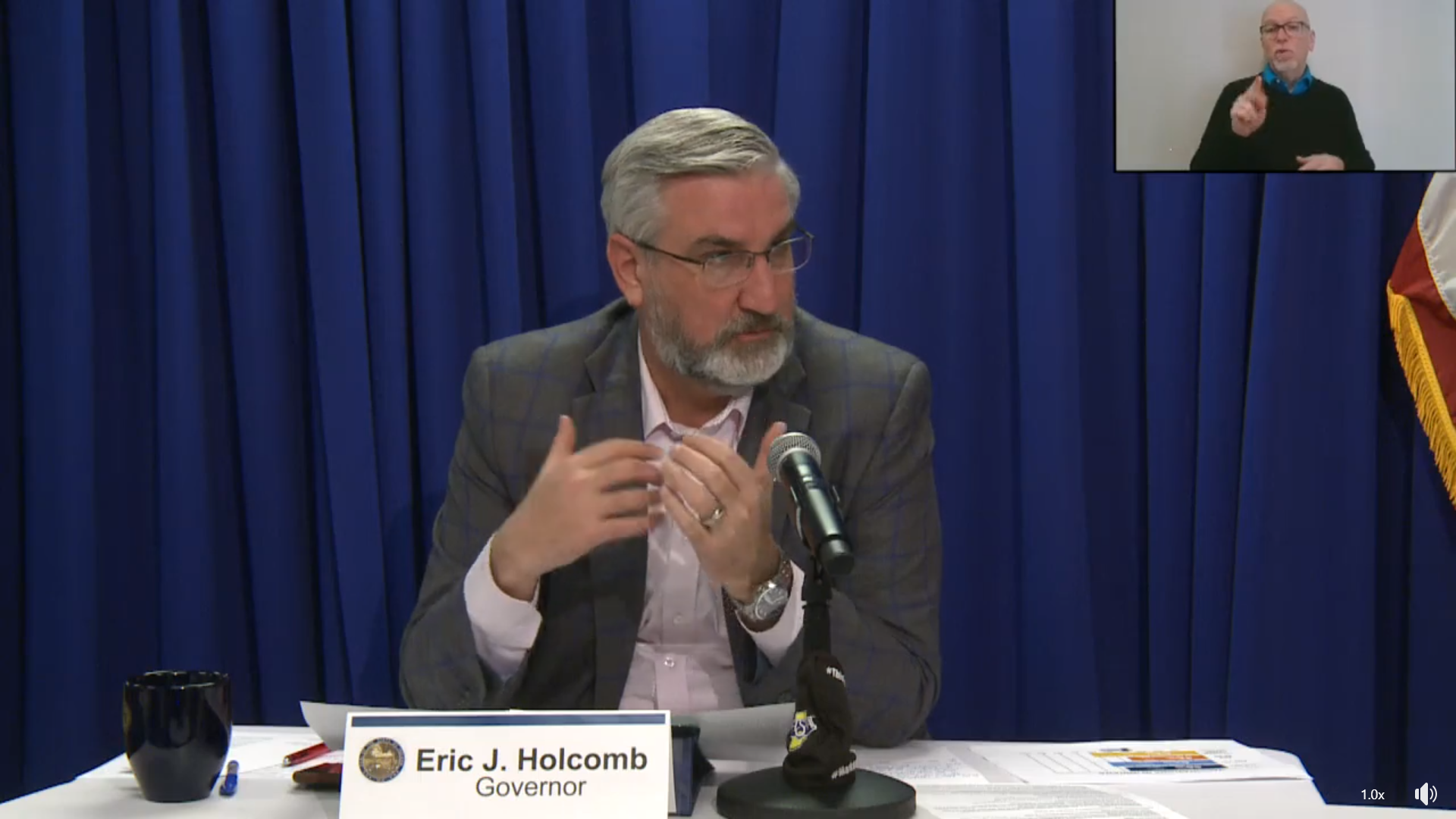 COVID-19 update: Wednesday's Q & A with Gov. Holcomb
