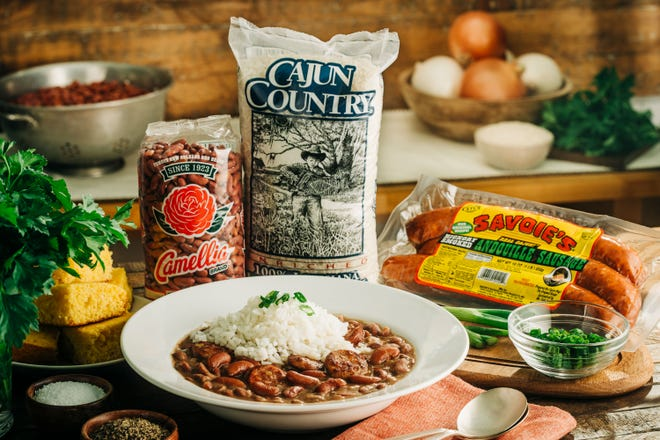 The history of red beans and rice, thestaple south Louisiana dish,is centered on women, from food brands to cooks.