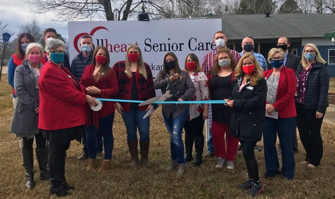 The Mountain Home Area Chamber of Commerce recently held a ribbon cutting for Allheart Senior Care in Gassville.