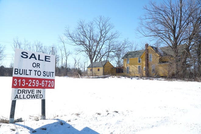 The property of Lee Begole at 43707 Grand River Ave. in Novi.
