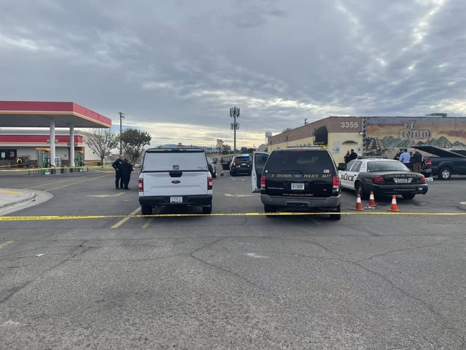 Tucson police fatally shot Andrew Kislek during a confrontation on Monday, Feb. 1, 2021, in the parking lot of a Circle K store near Sixth Avenue and East Benson Highway in Tucson.