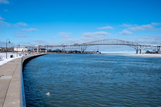 Blue Water Bridge file, February 2021