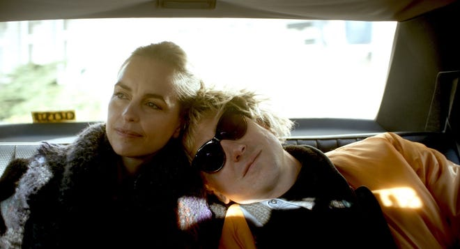"""Nina Hoss and Lars Eidinger as Lisa and Sven in """"My Little Sister."""" The ties between the twins have grown stronger since Sven was diagnosed with an aggressive  type  of  leukemia."""