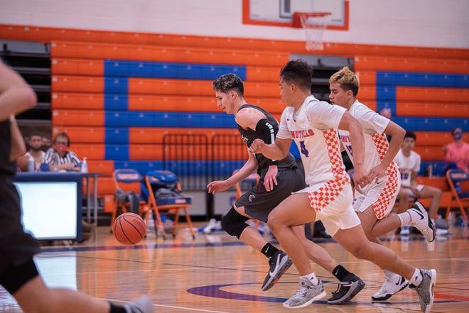 Ysleta High School defeated Canutillo High School 48-41 in division 2-5A varsity boys basketball at Canutillo High School on Feb. 2, 2021.