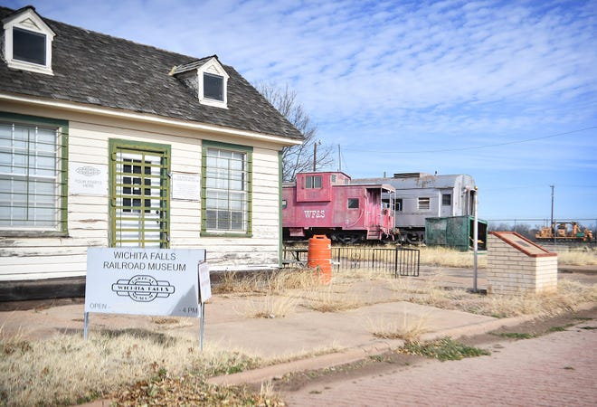 The small gift shop at the entrance of the Wichita Falls Railroad Museum had to close due to the pandemic and the museum is now shut down. The long-term future of the defunct museum is uncertain