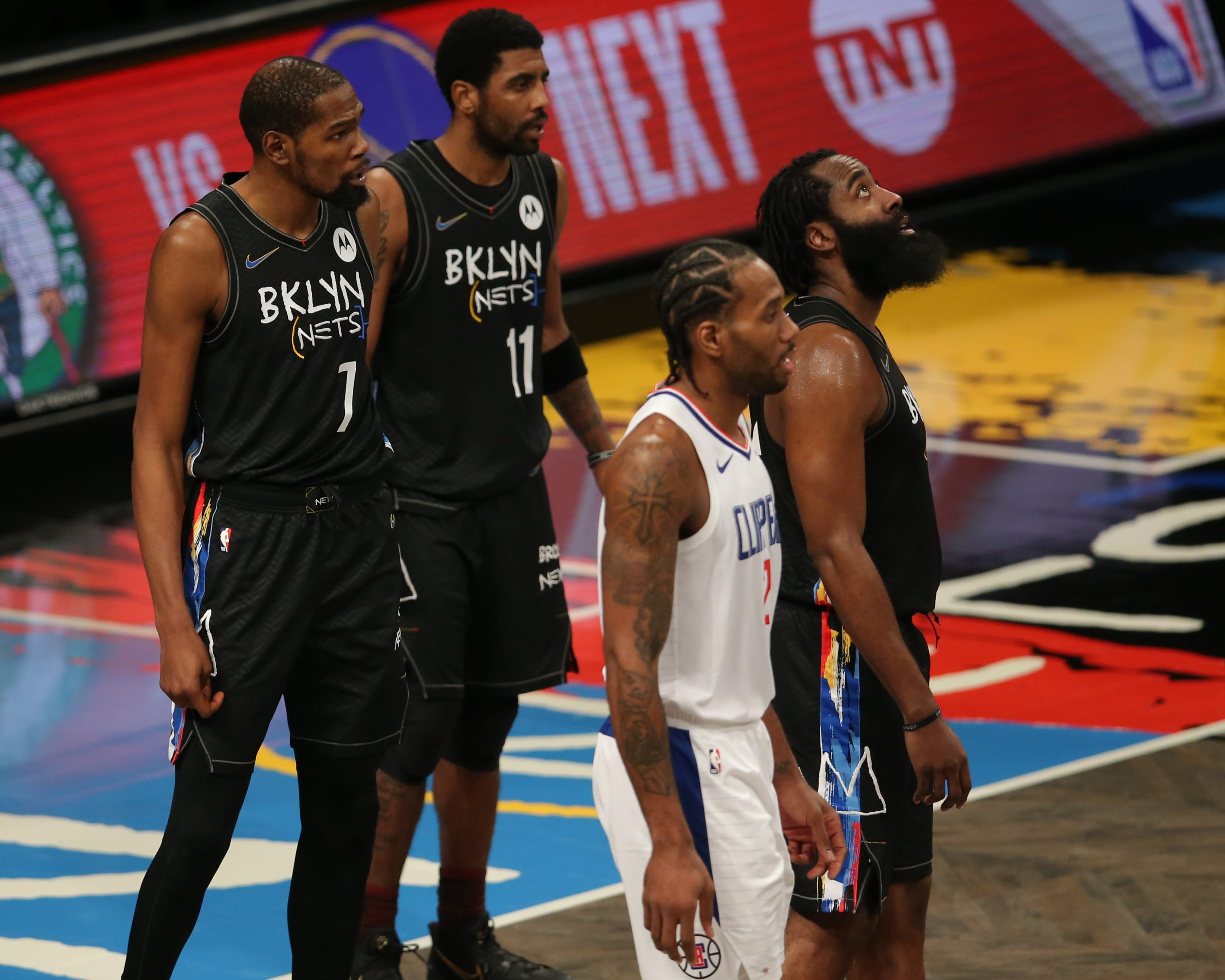 Opinion: Kevin Durant, Kyrie Irving and James Harden scoring outbursts not enough for Nets to win title