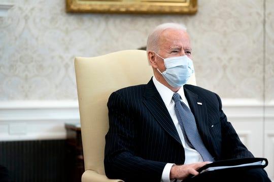 President Joe Biden on Feb. 3, 2021, in Washington, D.C.