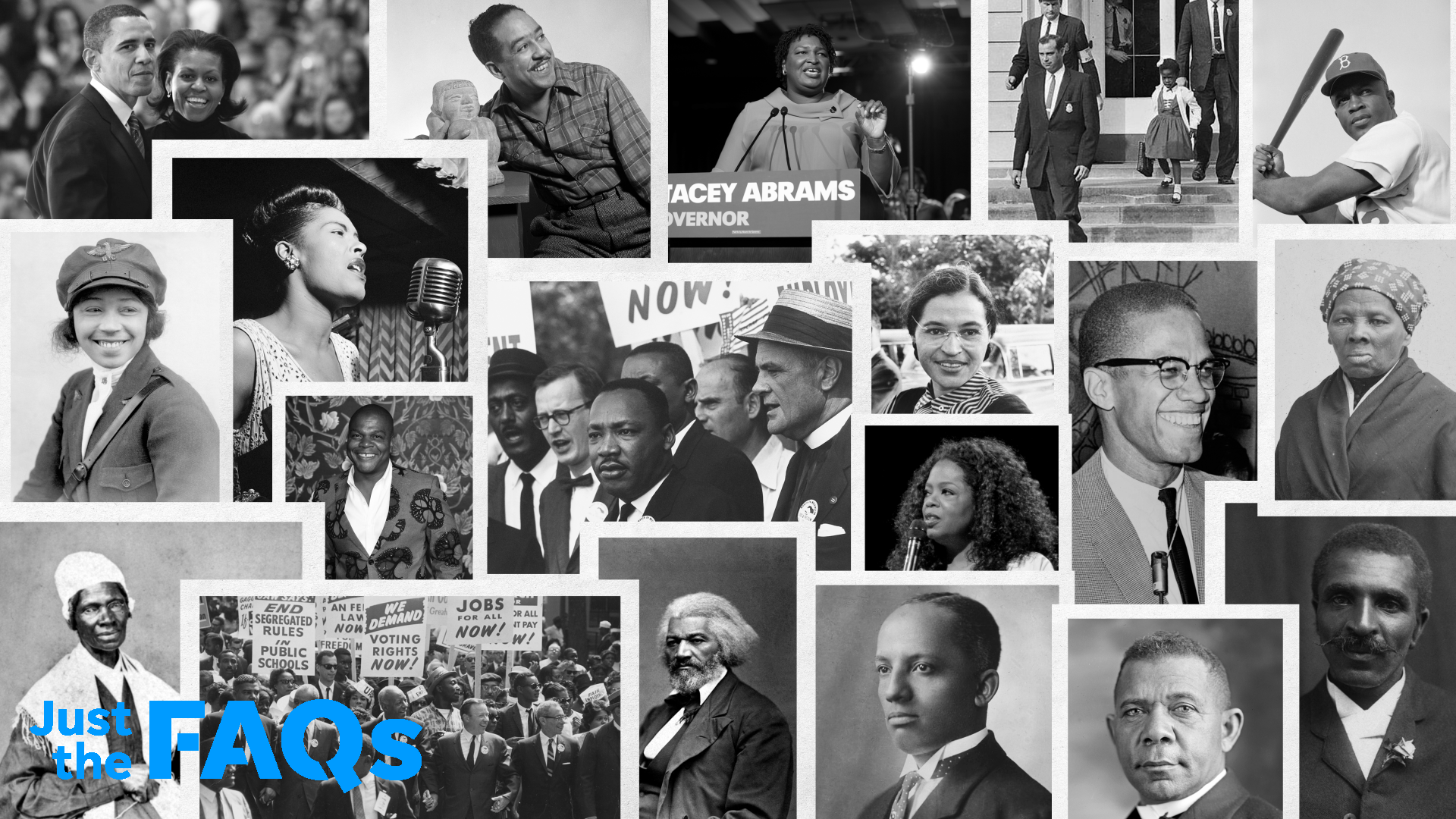 Our Black History Collage