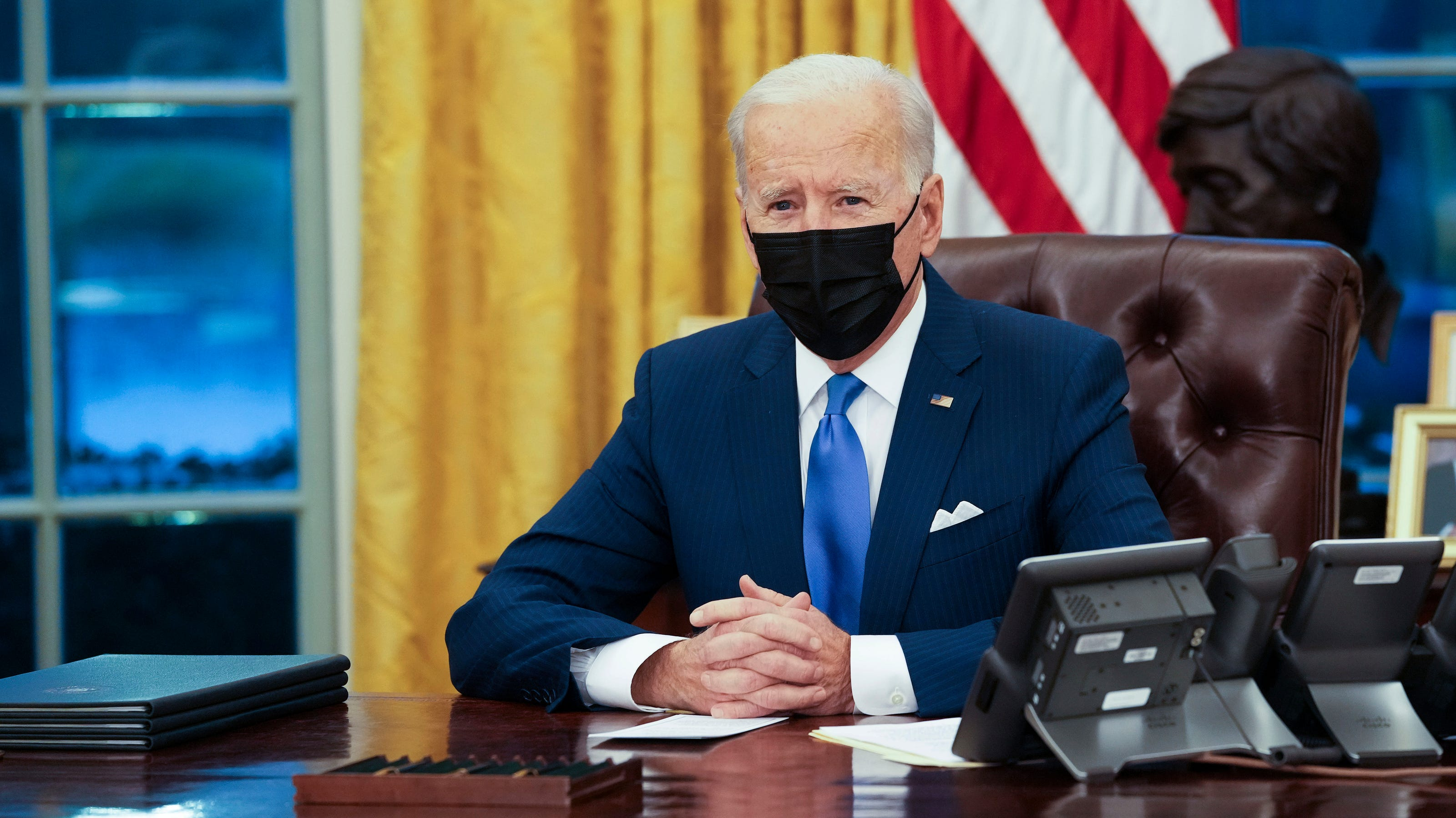 President Biden will not lift sanctions on Iran to get new nuke deal; predicts'extreme competition' with China thumbnail